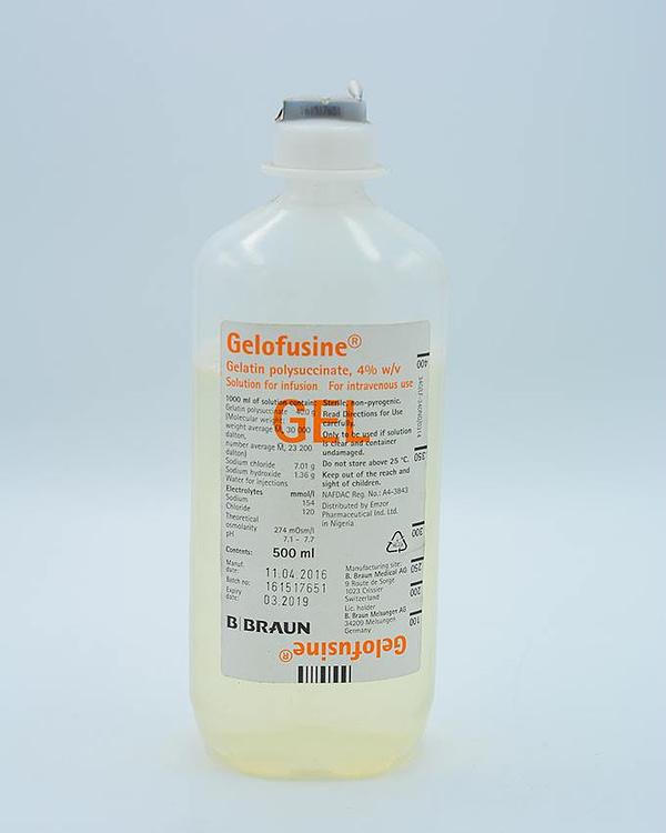 Fluid Replacement Therapy B BRAUN  – Gelofusine Fluid Replacement Therapy