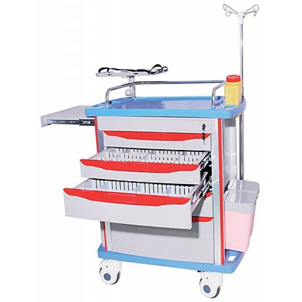 Hospital Furniture Emergency Trolley Hospital Furniture