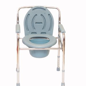 Mobility Equipment Stainless Steel Commode Chair Mobility Equipment